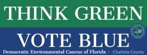 Think Green Vote Blue