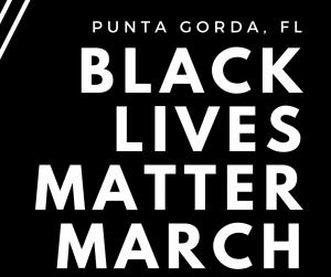 Black Live Matter march poster