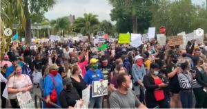 Image of Black Lives Matter Protest in Punta Gorda
