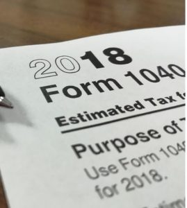 1040 Tax From